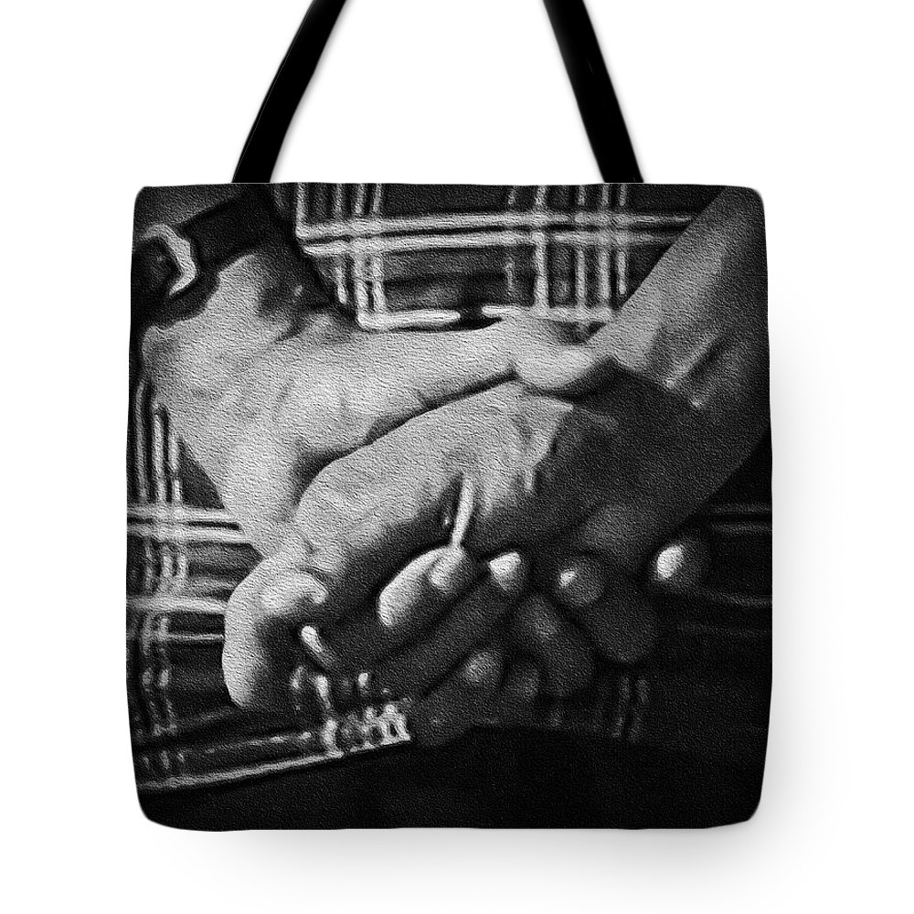 2d Tote Bag featuring the photograph Elder by Brian Wallace