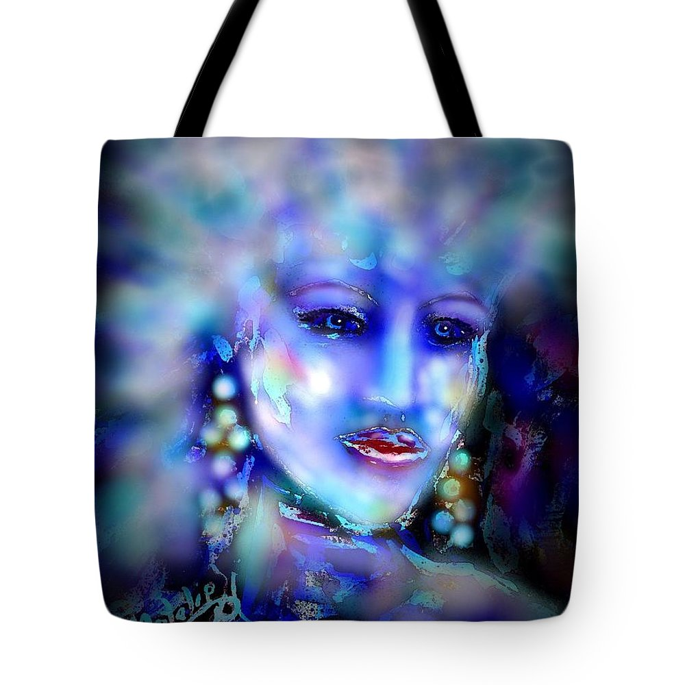 Woman Tote Bag featuring the painting Electra by Natalie Holland