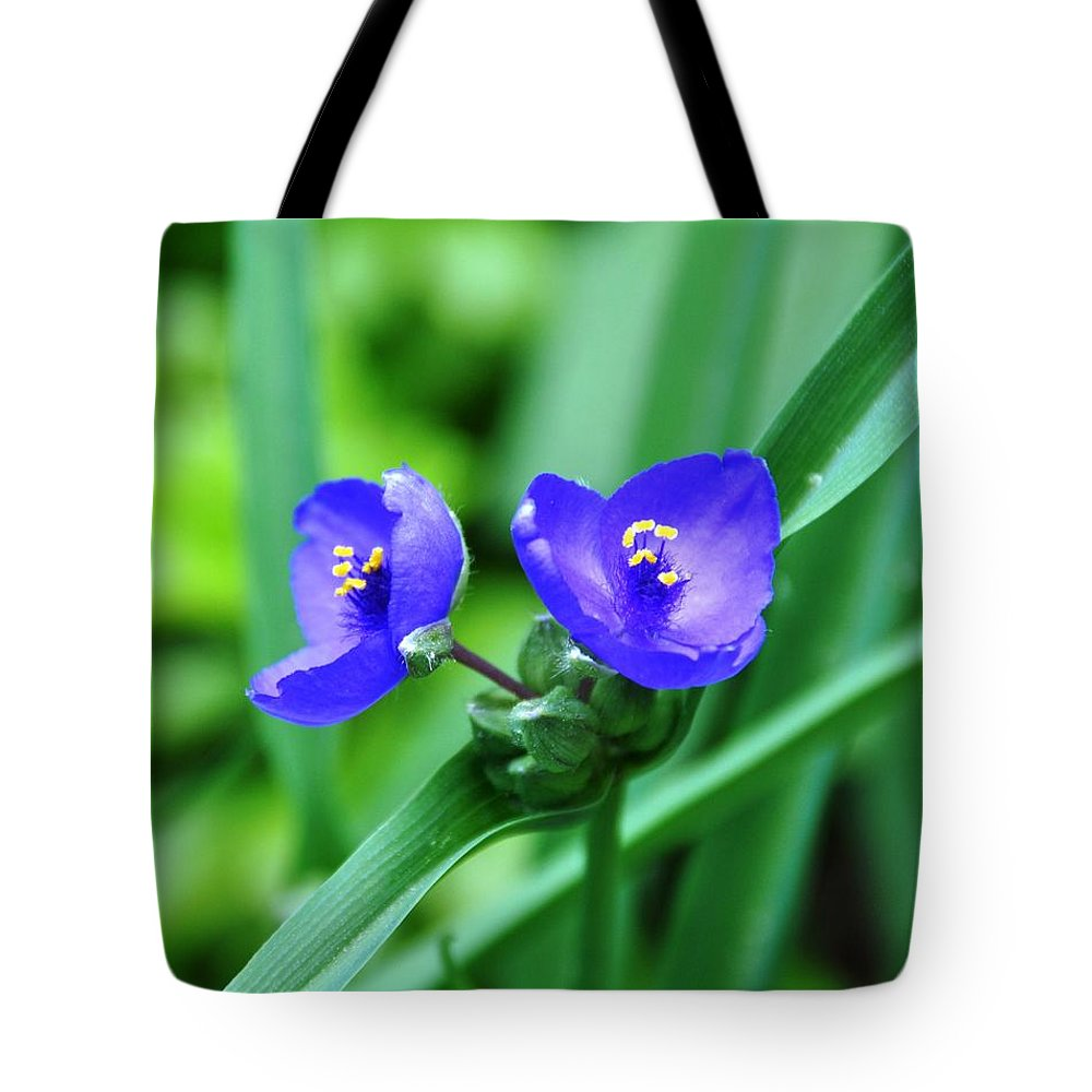 Flower Tote Bag featuring the photograph Electric Yellow by Rich Bodane