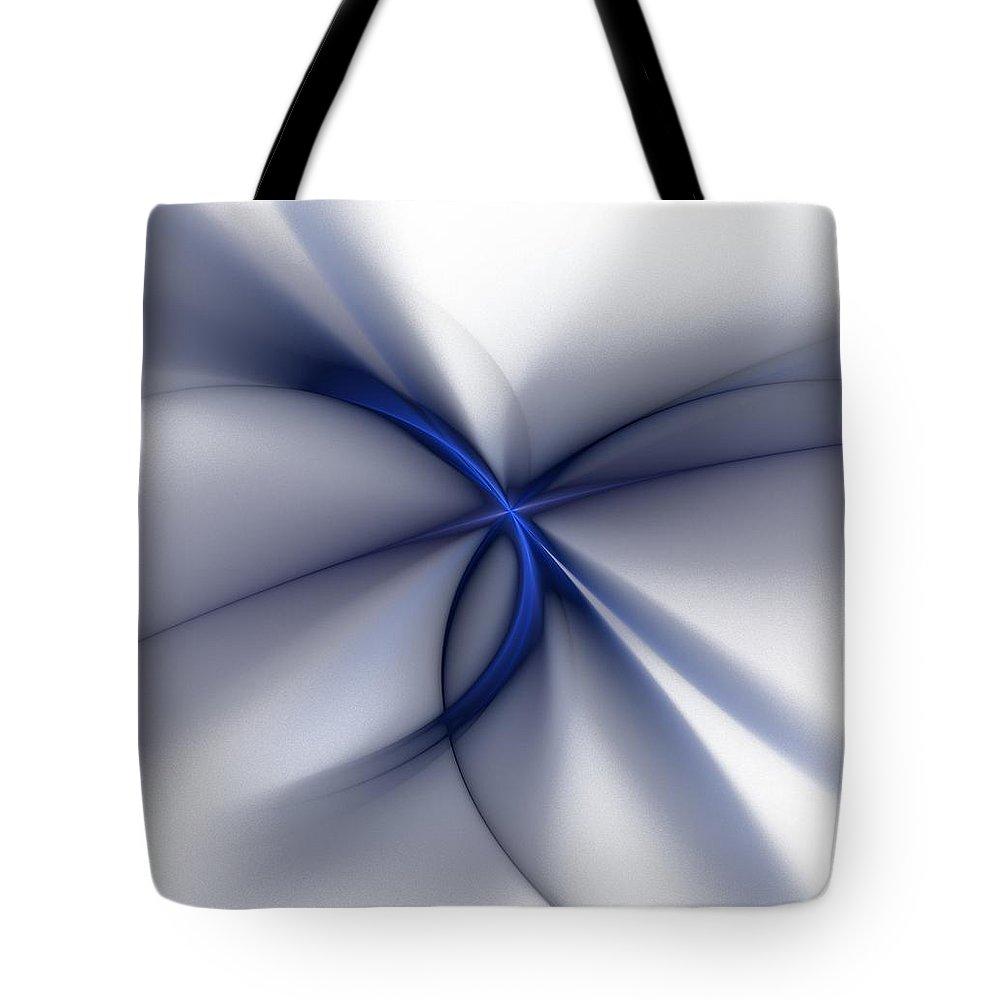 Fantasy Tote Bag featuring the digital art Elegance by David Lane
