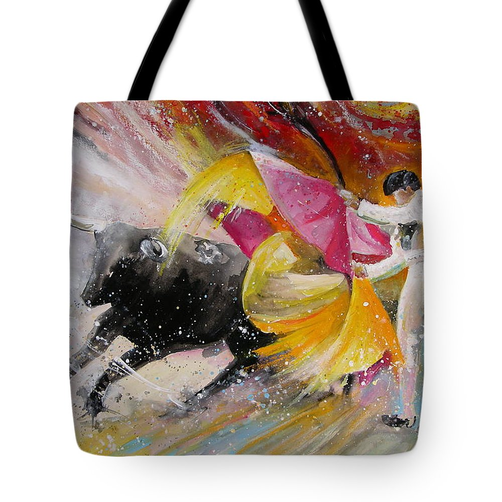 Animals Tote Bag featuring the painting Elegance by Miki De Goodaboom