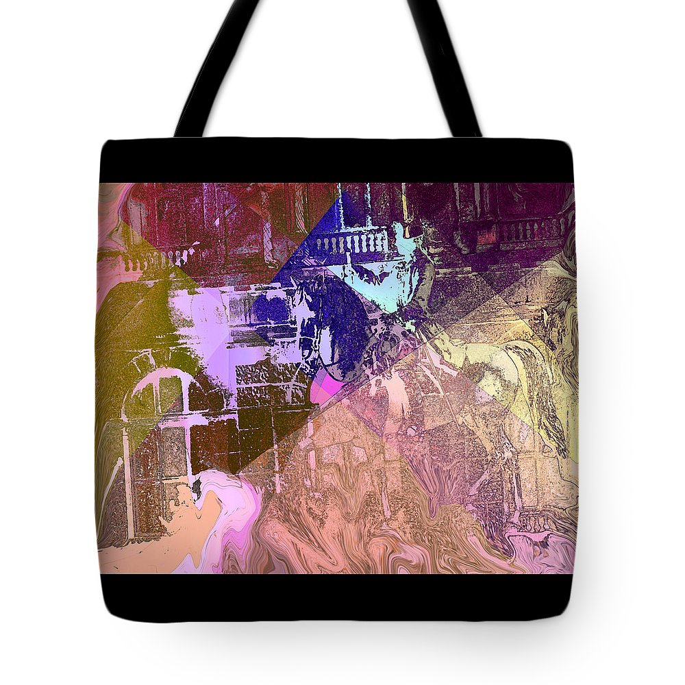 Abstract Tote Bag featuring the photograph Elegant Horse by Ian MacDonald