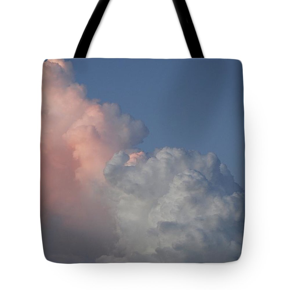 Clouds Tote Bag featuring the photograph Elephant Cloud by Rob Hans
