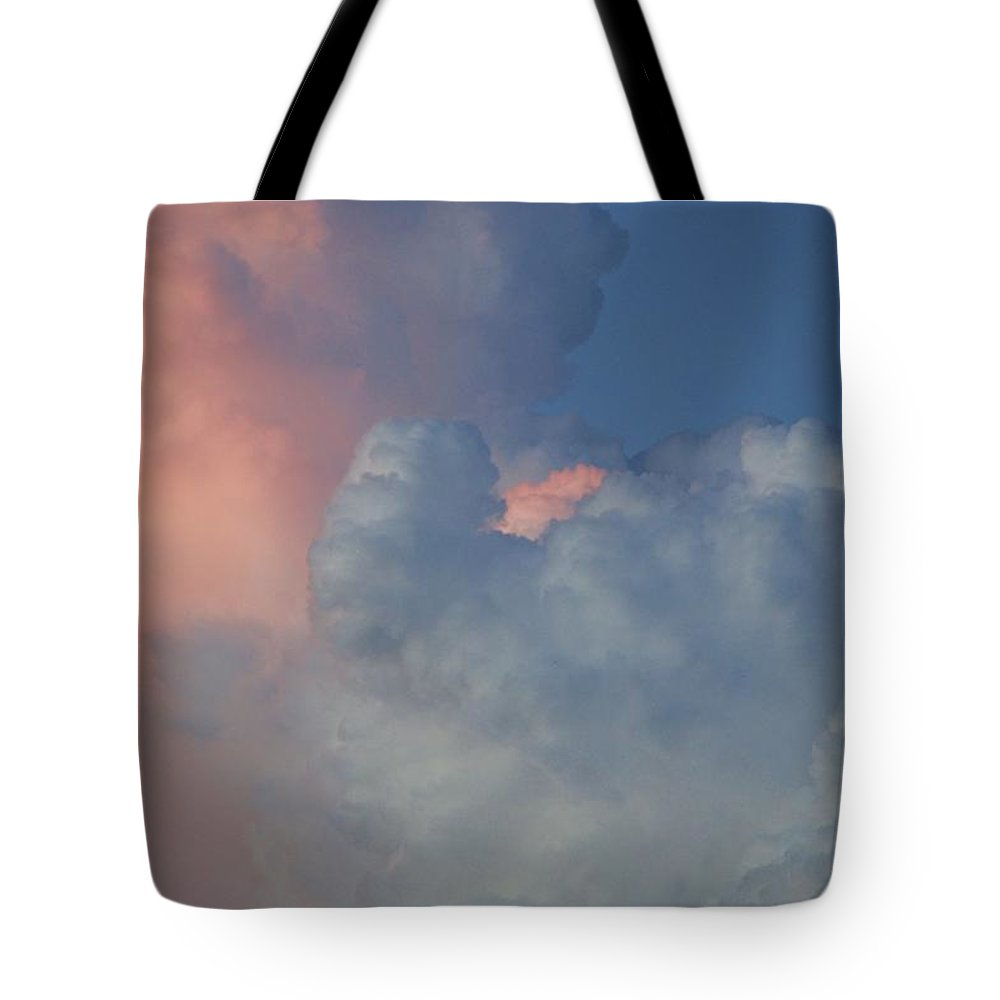 Clouds Tote Bag featuring the photograph Elephant In The Sky by Rob Hans