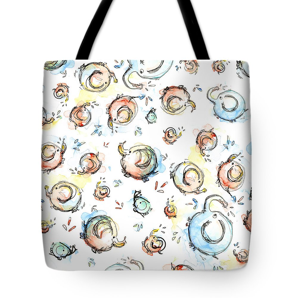 Baby Blue Tote Bags