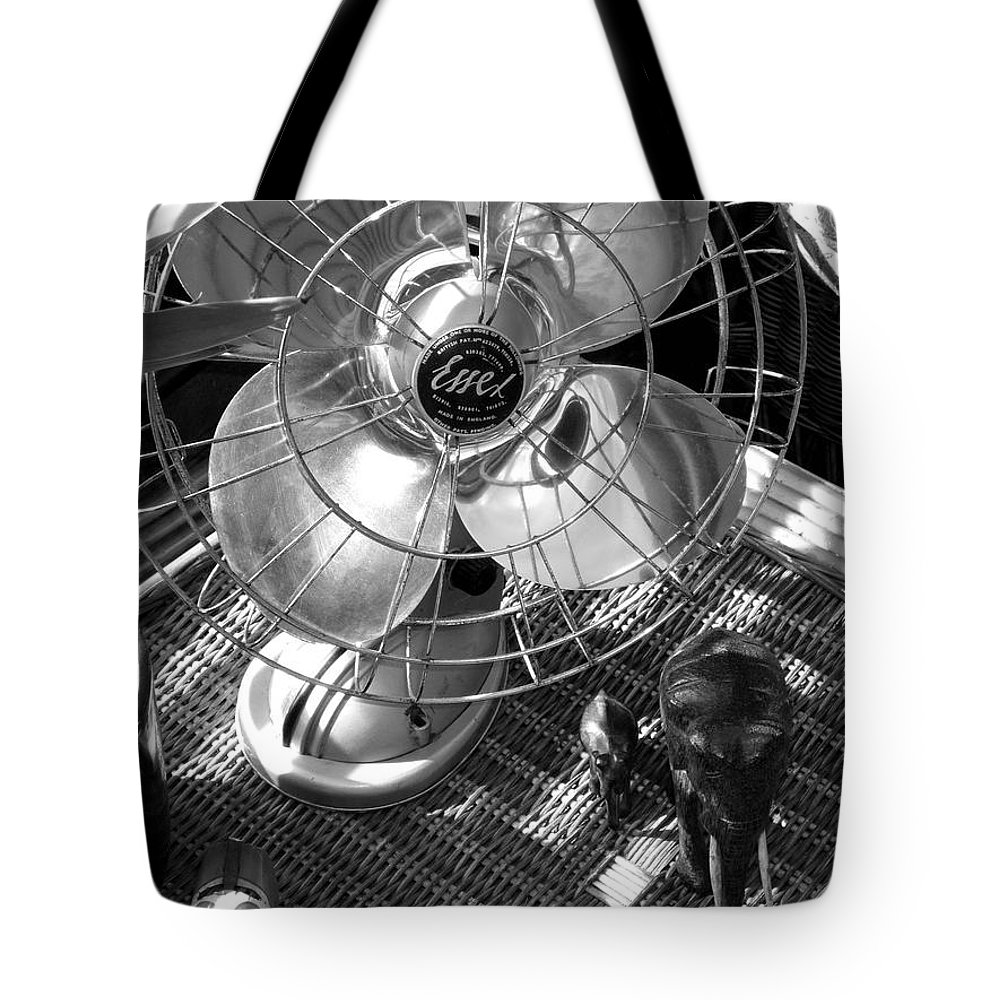 Still Life Tote Bag featuring the photograph Elephant Walk by Charles Stuart