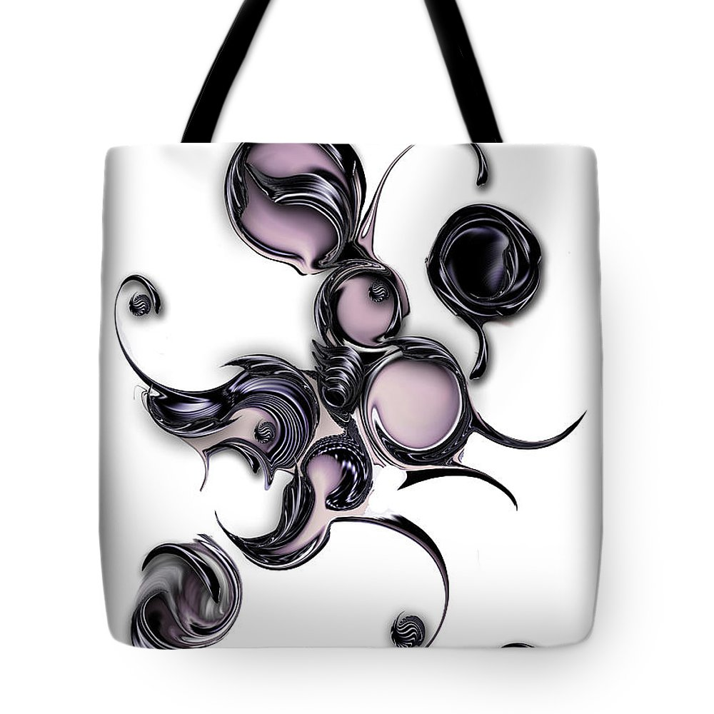Emotional Tote Bag featuring the digital art Emotional Creation by Carmen Fine Art