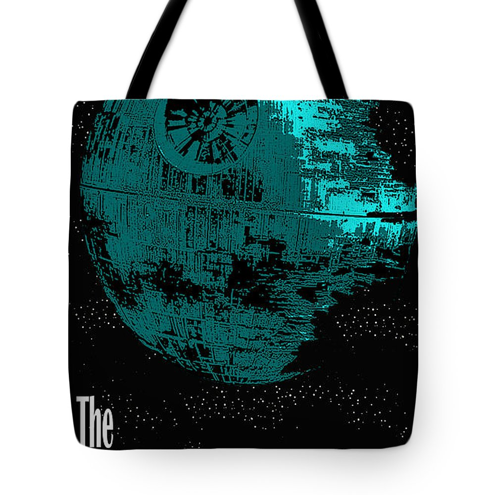 Tote Bag featuring the digital art Empire Propaganda by Antoine Boutin