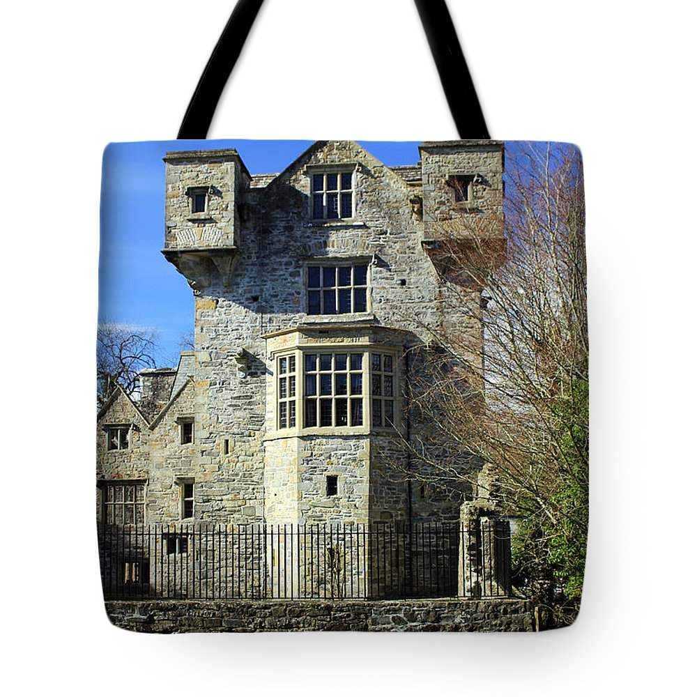 Donegal Castle Tote Bag featuring the photograph Empty House by Jennifer Robin