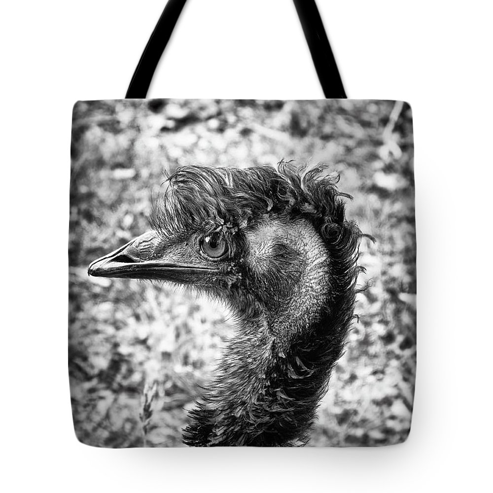 Emu Tote Bag featuring the photograph Emu by Wim Lanclus