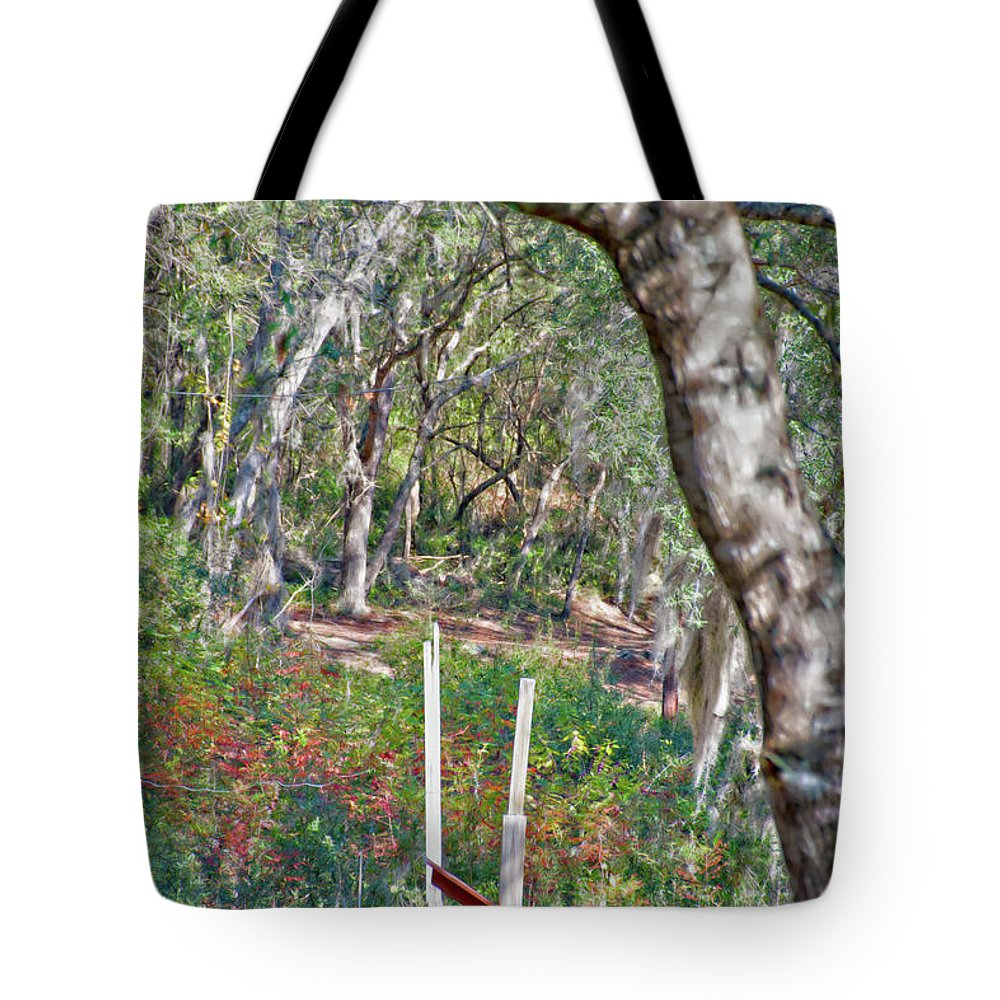Enchanted Forest Tote Bag featuring the photograph Enchanted Forest by Gina O'Brien