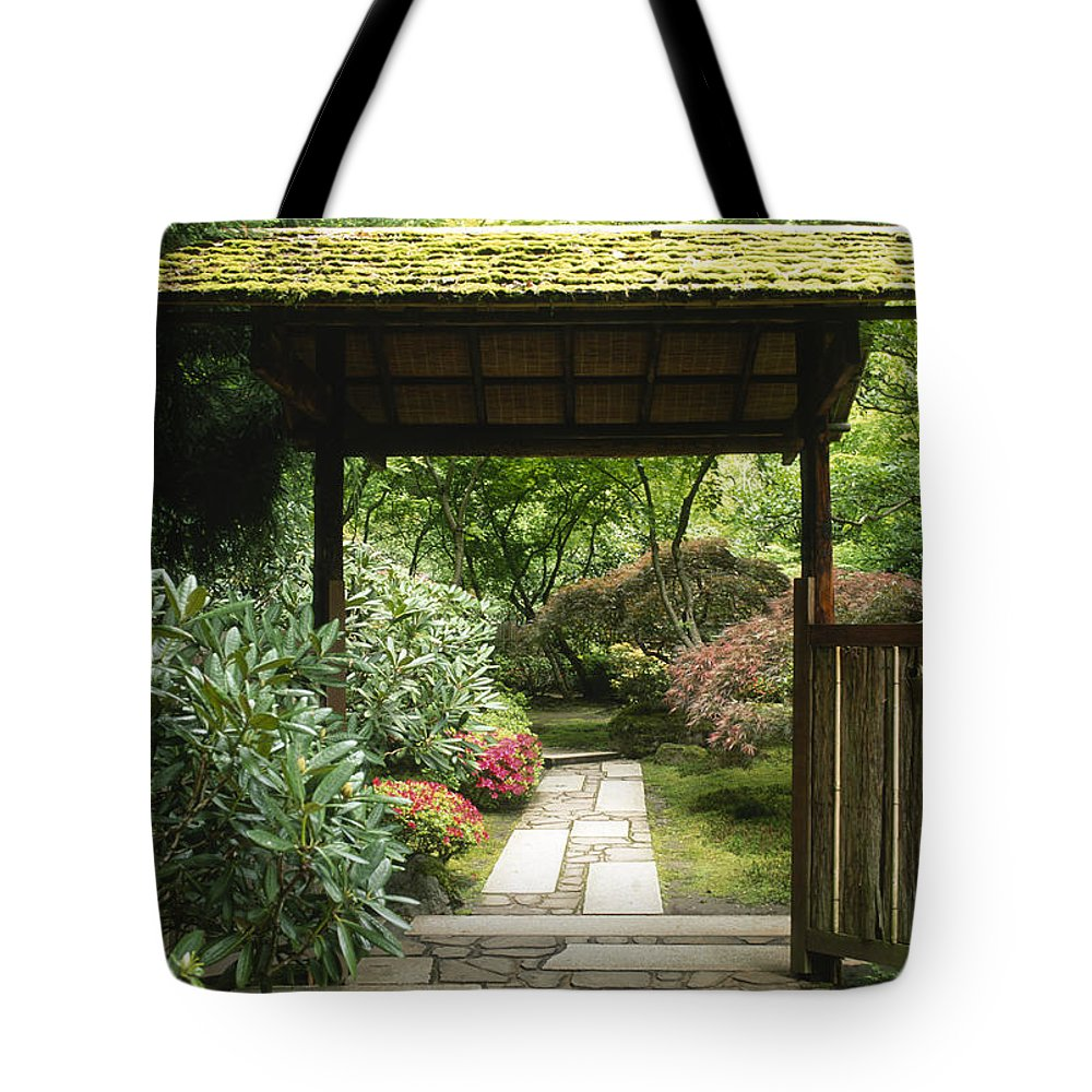 Garden Tote Bag featuring the photograph Enchanted Garden by Sandra Bronstein