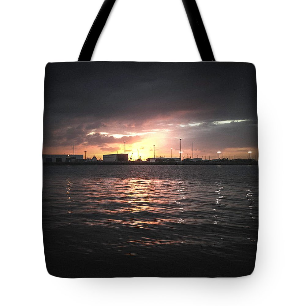 Photography Tote Bag featuring the photograph End Of Day by Gaddeline Figueroa