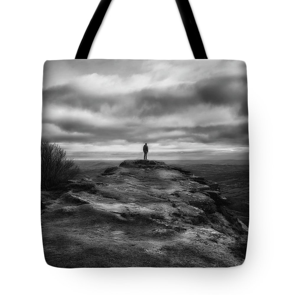 Landscape Tote Bag featuring the photograph End Of The Earth by Matt De Moraes