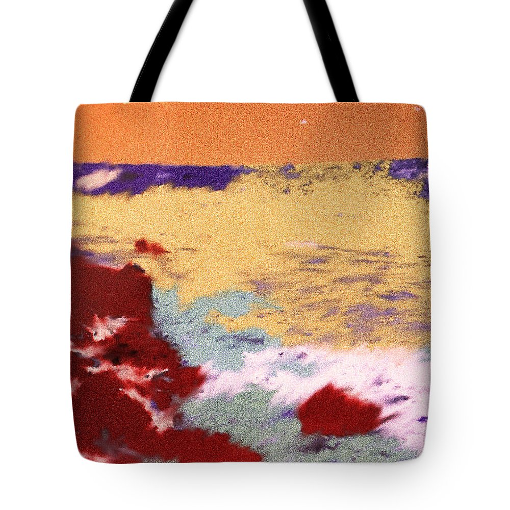 St Kitts Tote Bag featuring the digital art End Of The Journey by Ian MacDonald