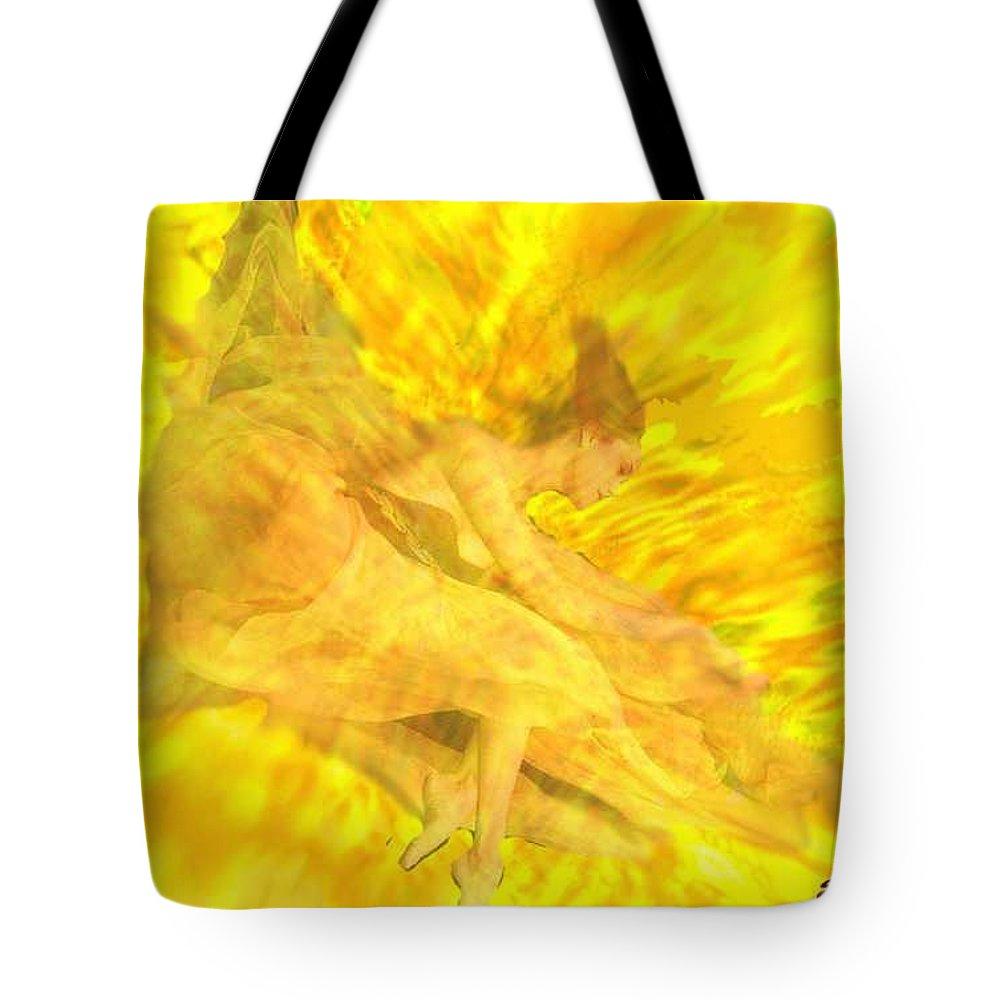 Joy Tote Bag featuring the digital art Endless Joy by Seth Weaver