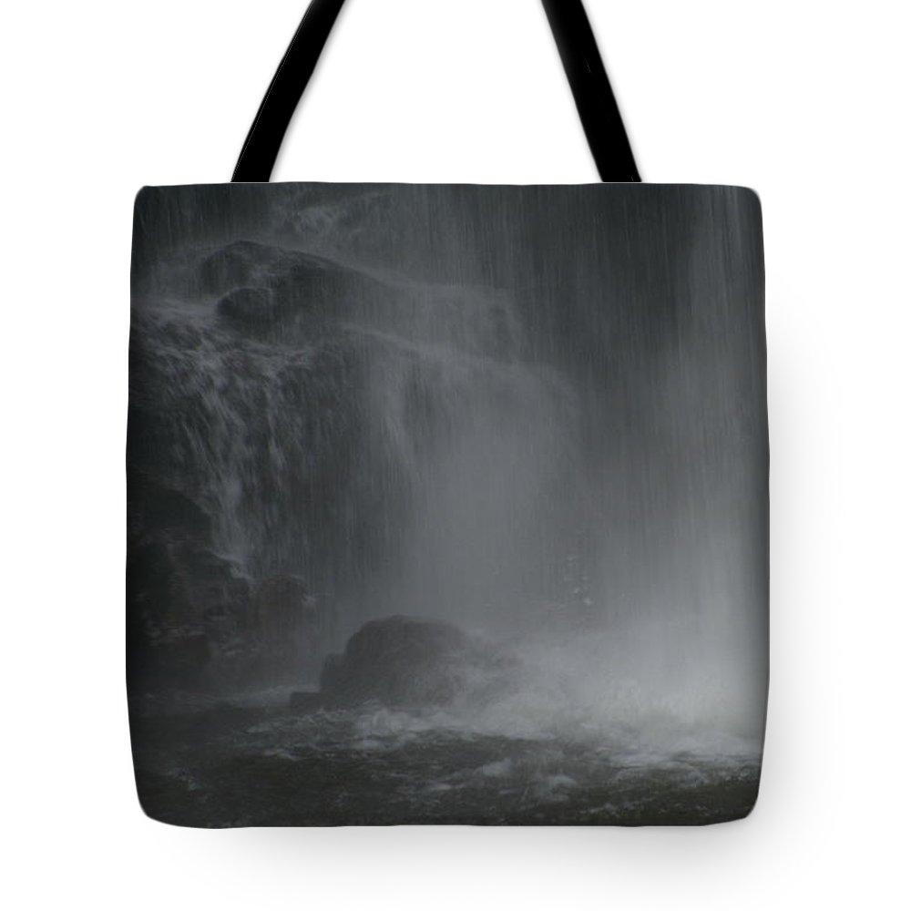 Looking Glass Falls Tote Bag featuring the photograph Endless Spray by Christal Randolph