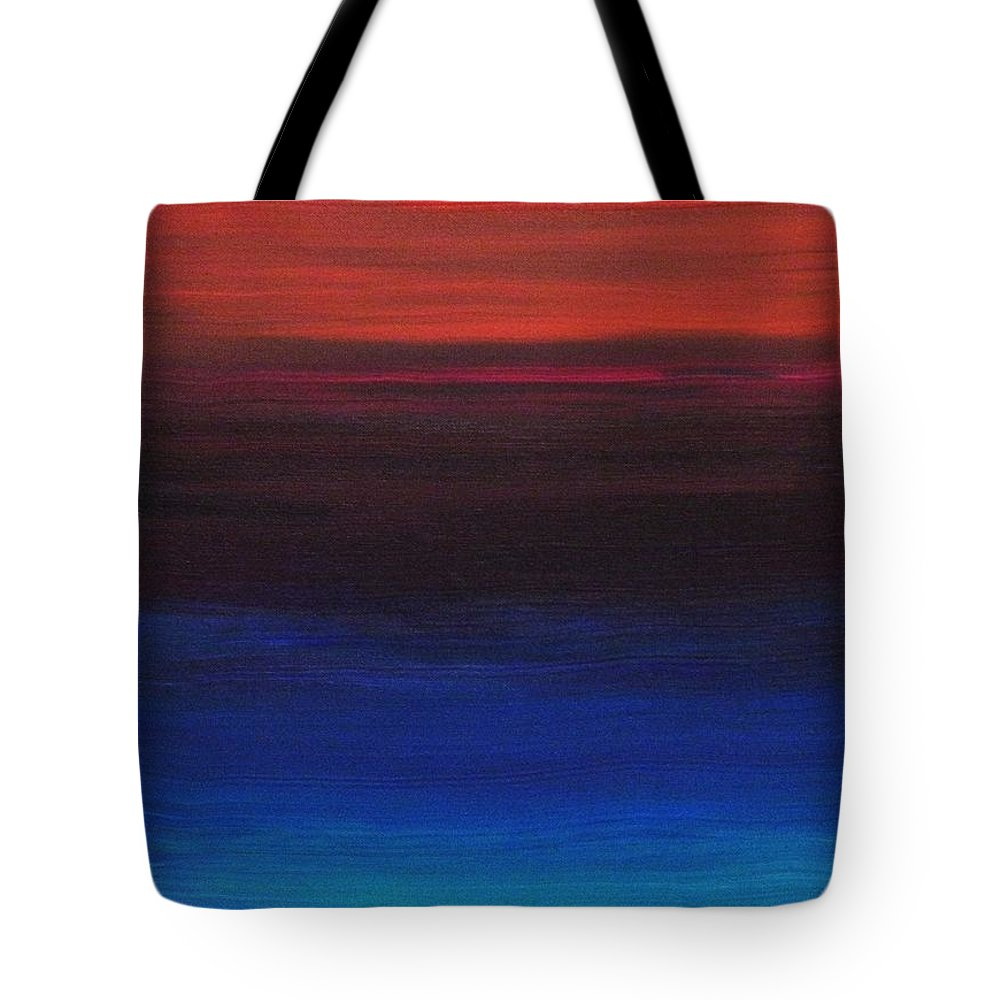 Original Tote Bag featuring the painting Endless by Todd Hoover