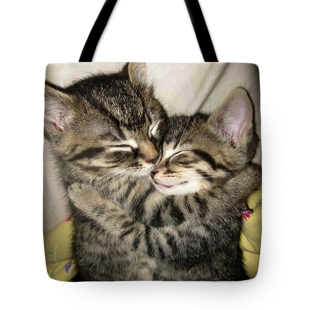Adorable Tote Bag featuring the photograph Enfold by Heather King