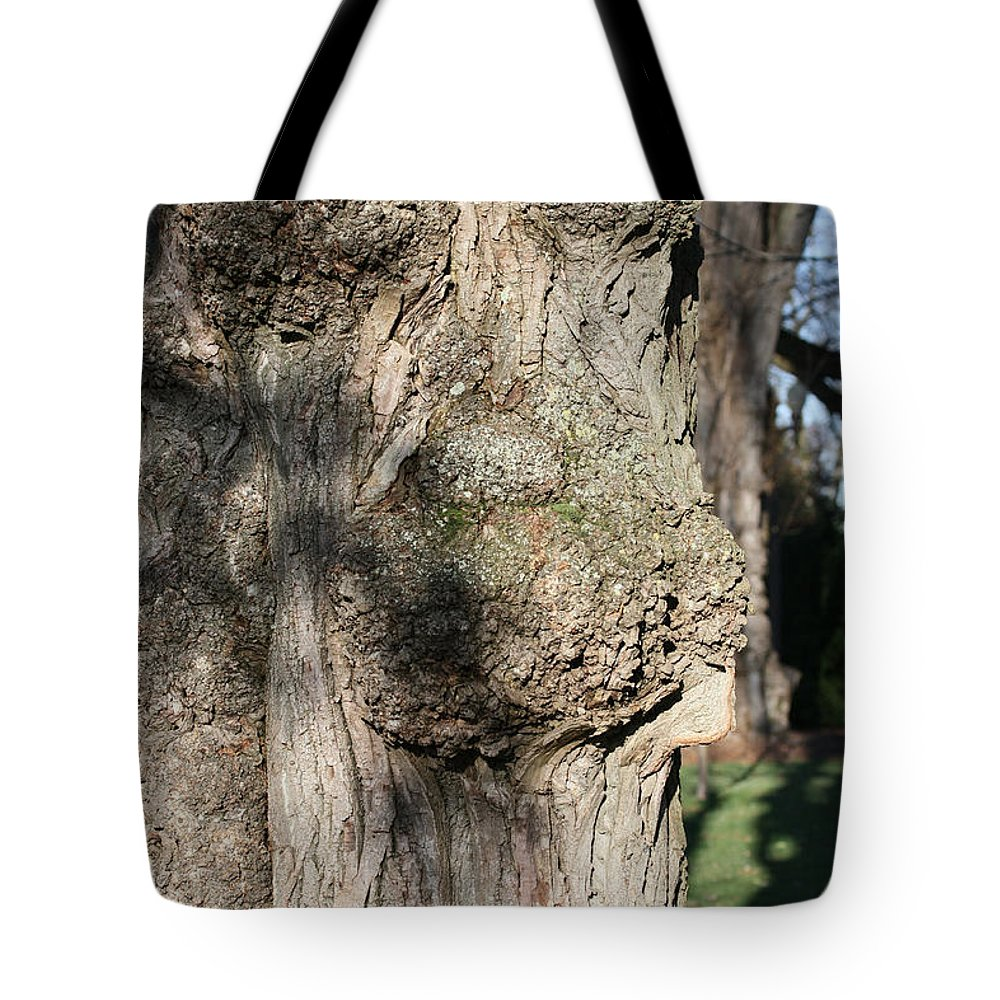 Trees Tote Bag featuring the photograph Ent Face by James E Weaver