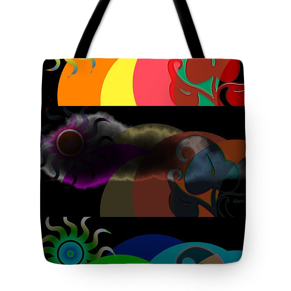 Tote Bag featuring the digital art Environment by Clayton Bruster