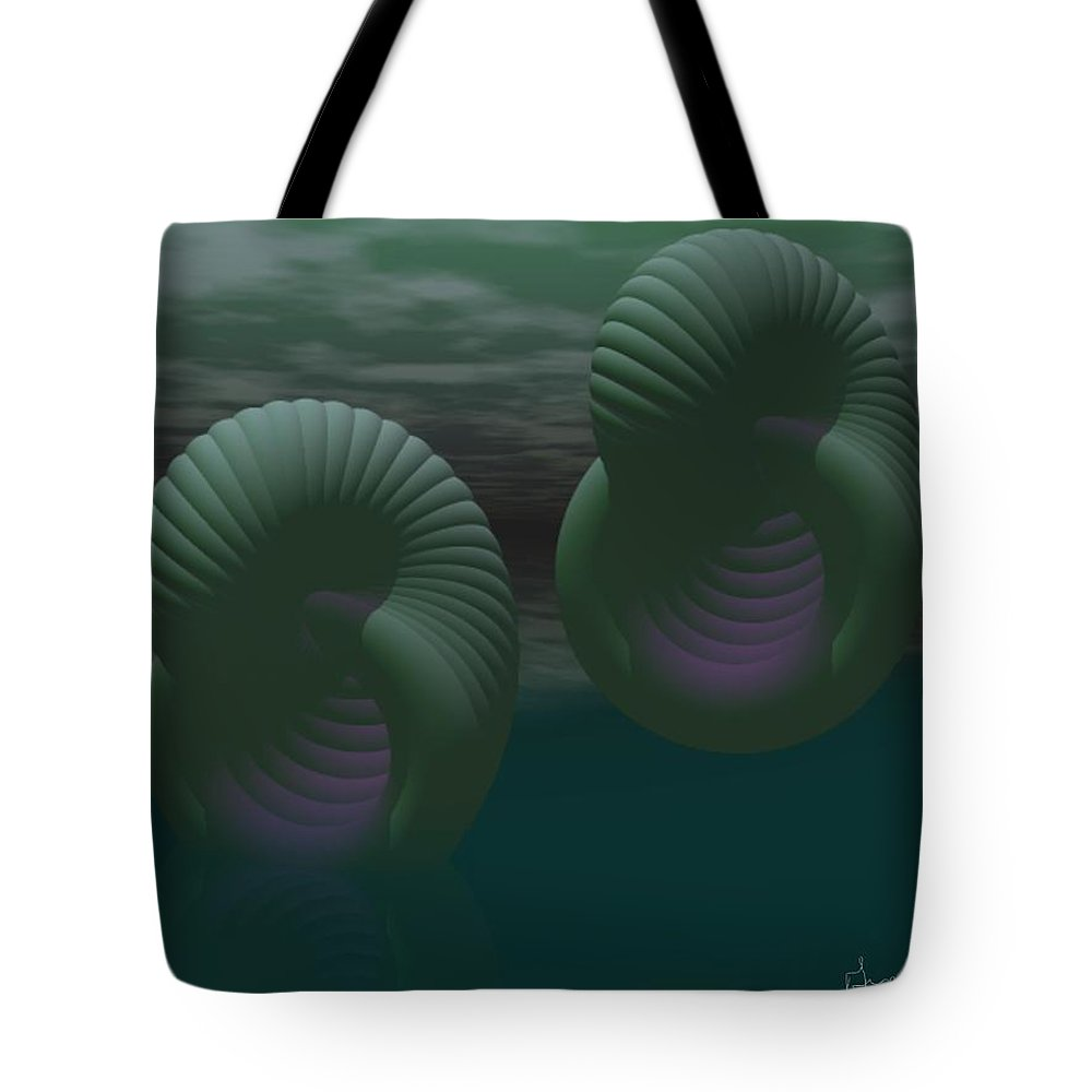 Envy Tote Bag featuring the digital art Envy by Gina Lee Manley