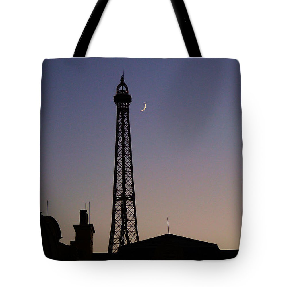 France Tote Bag featuring the photograph Epcot France Night by Nora Martinez