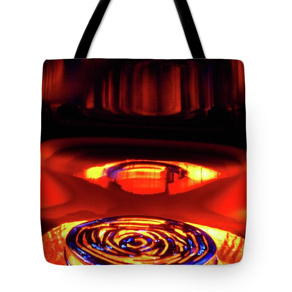 Abstract Tote Bag featuring the photograph Eruption # 5 by Paolo Staccioli