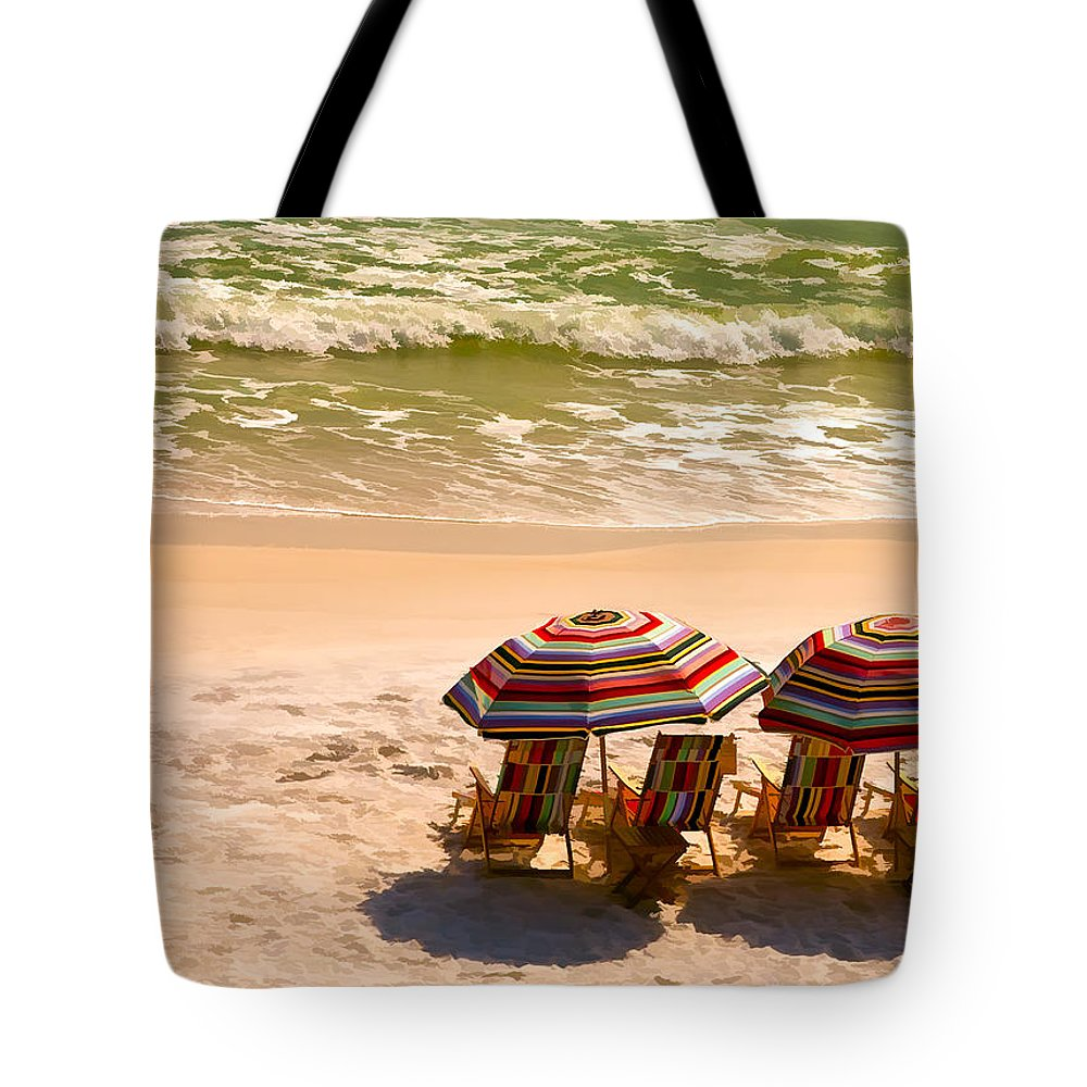 Alys Beach Tote Bag featuring the photograph Escape by Janet Fikar