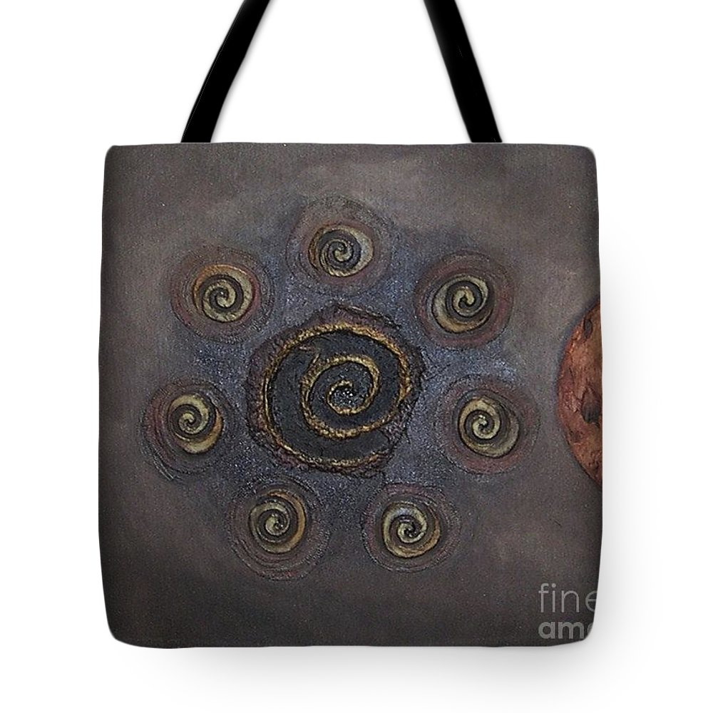 Sets Tote Bag featuring the painting Espresso Roast by Marlene Burns