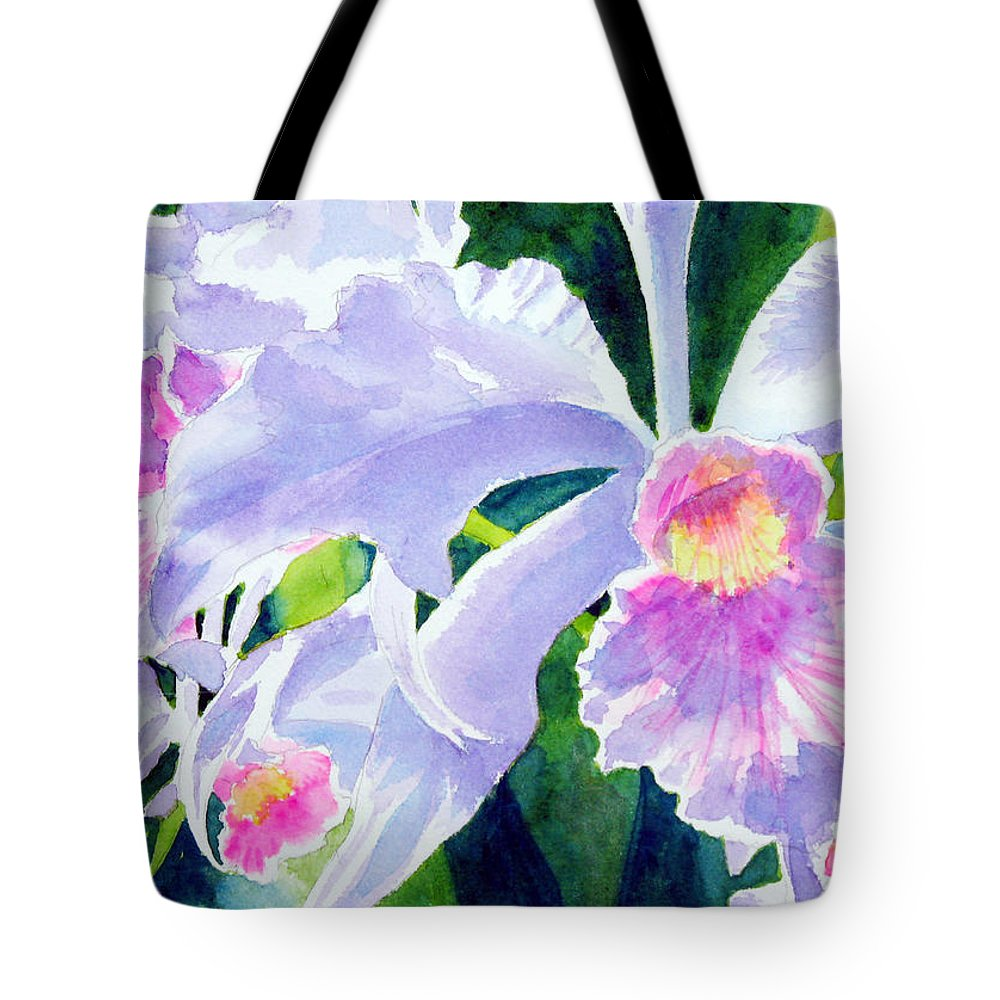 Flower Tote Bag featuring the painting Essence Of Love by Marsha Elliott