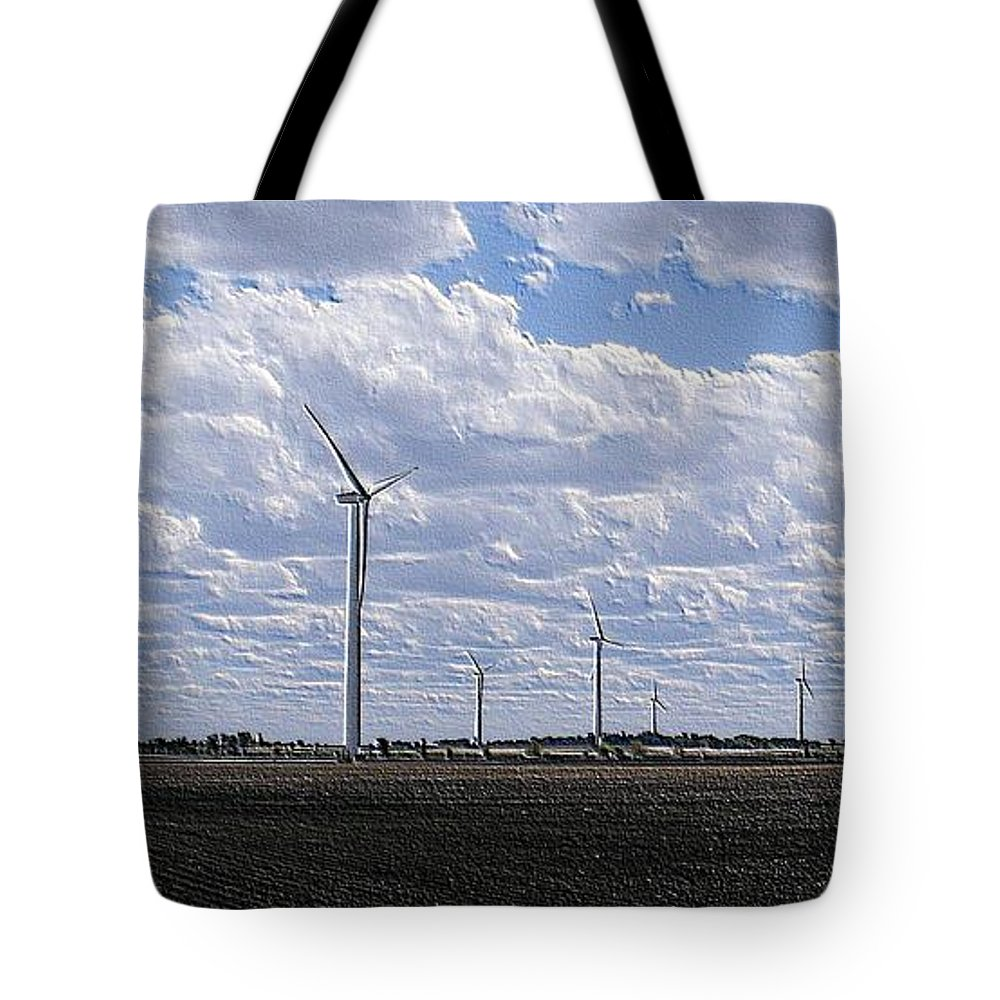 Wind Tote Bag featuring the photograph Etched In Stone by Ed Smith