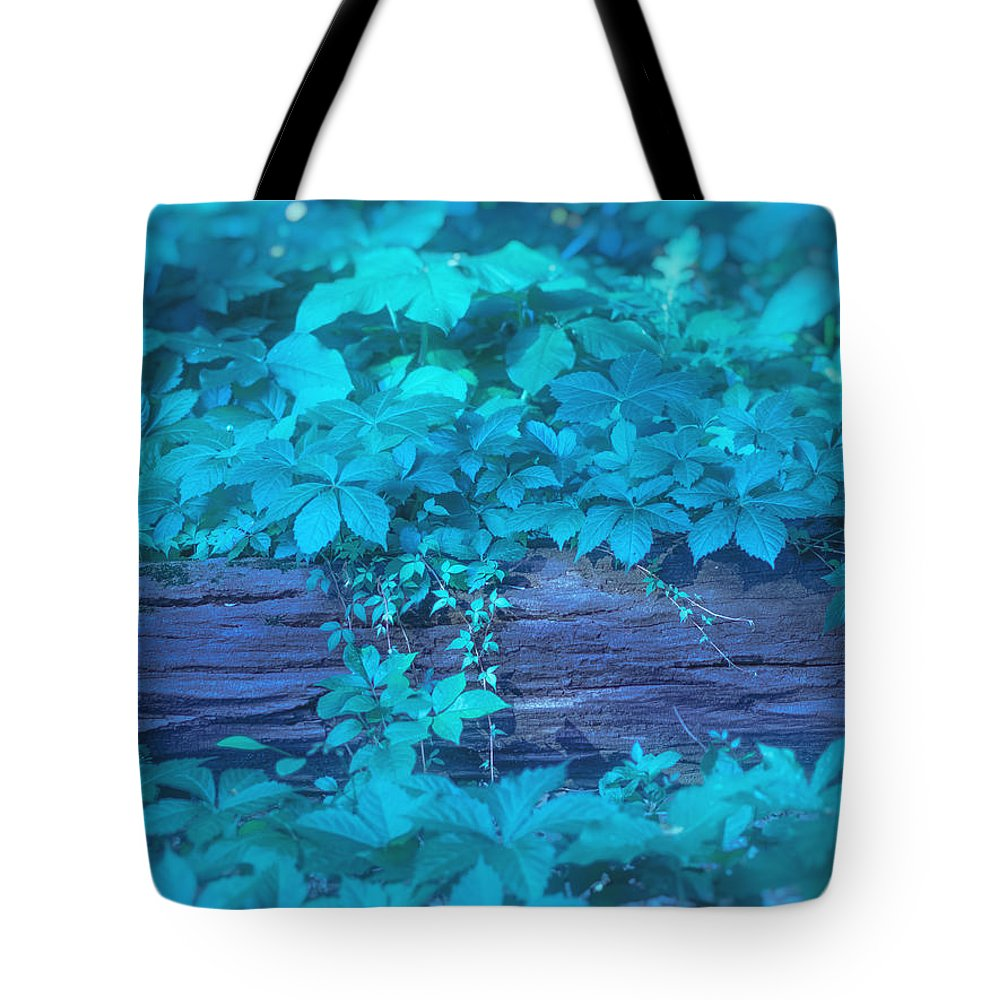 Aqua Tote Bag featuring the digital art Eternal Embrace by Will Jacoby Artwork