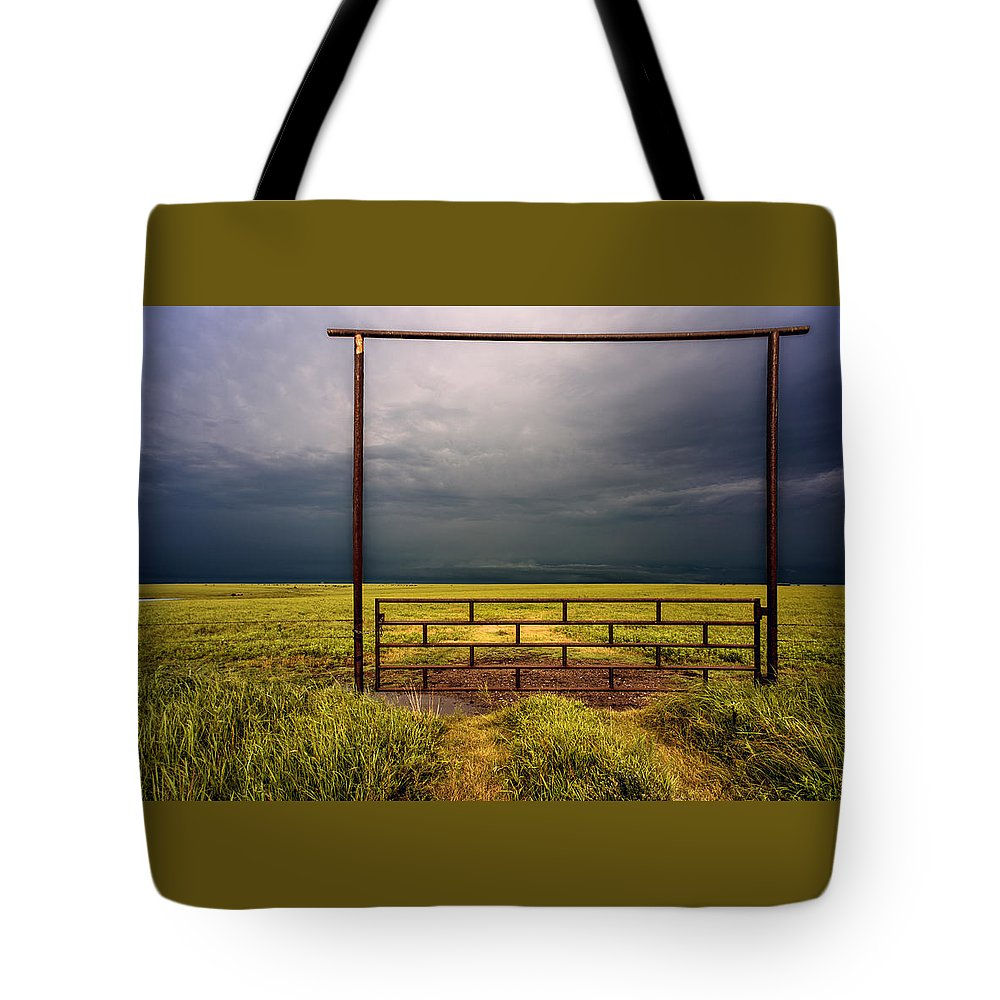 Prairie Tote Bag featuring the photograph Eternity by Don Spenner