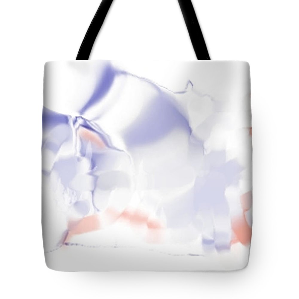Ethereal Tote Bag featuring the digital art Ethereal by Ron Bissett