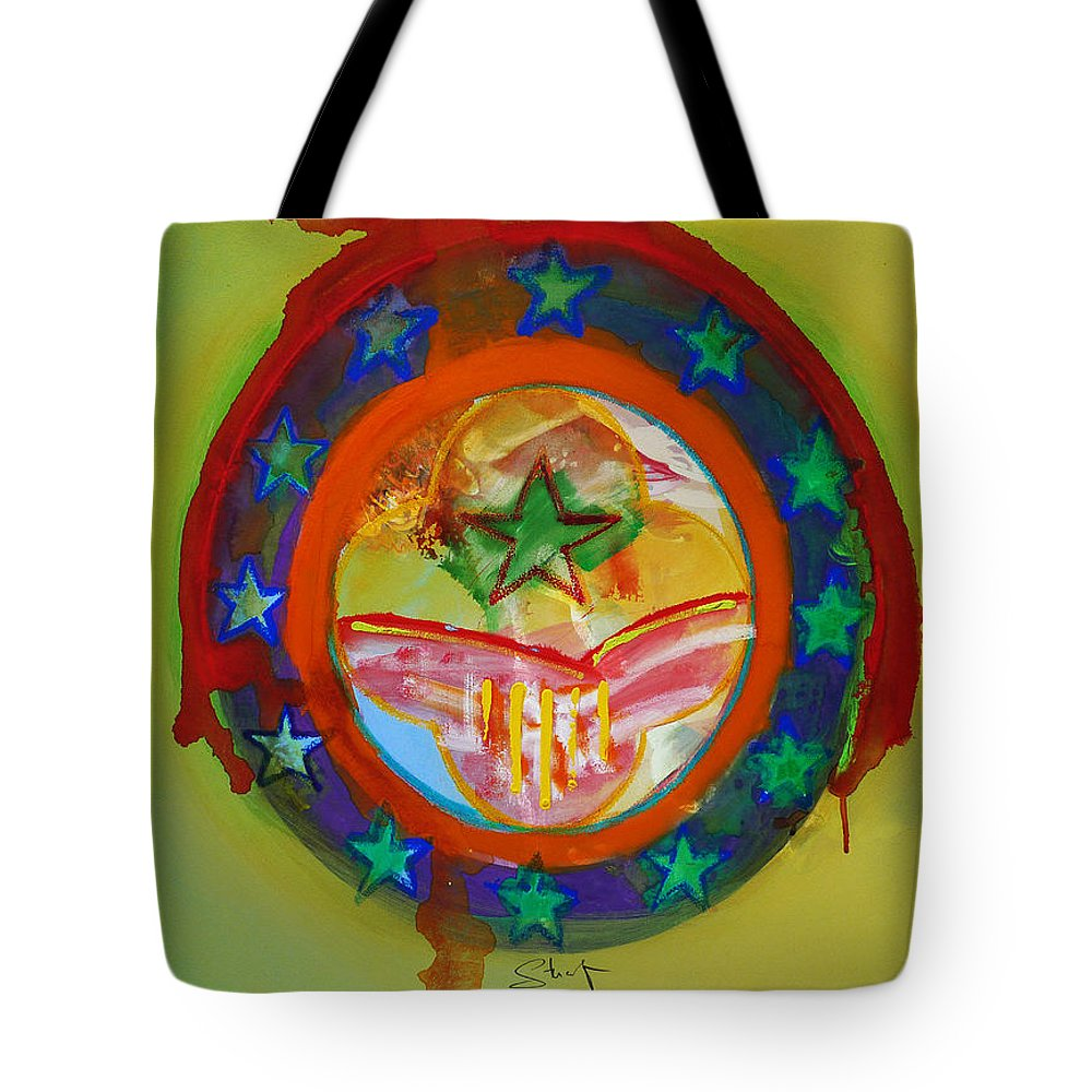 Tote Bag featuring the painting European Union by Charles Stuart
