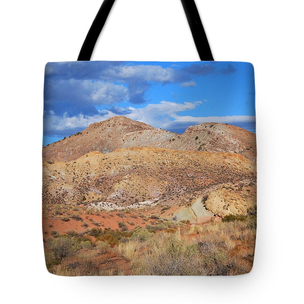 Color Tote Bag featuring the photograph Evening Colors Of The Desert by Cascade Colors