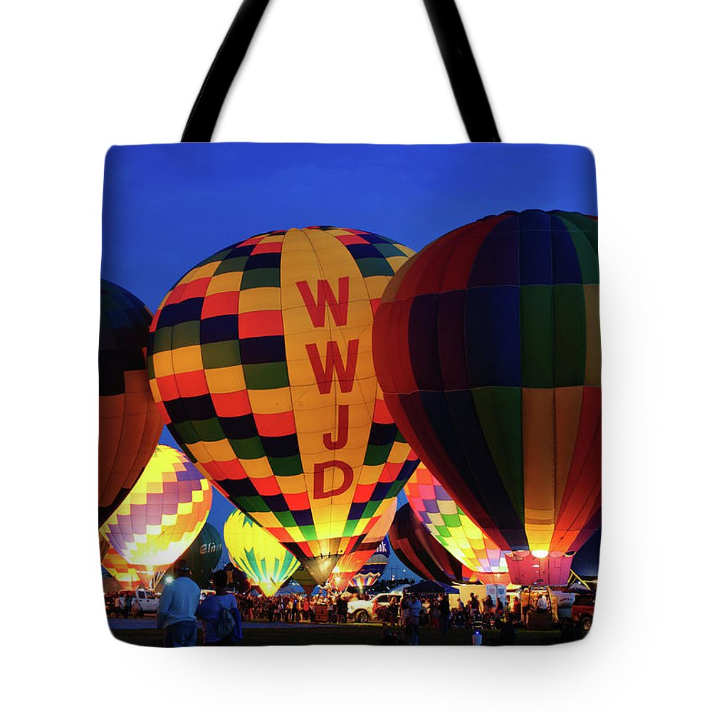 Abf Tote Bag featuring the photograph Evening Glow by Tara Krauss