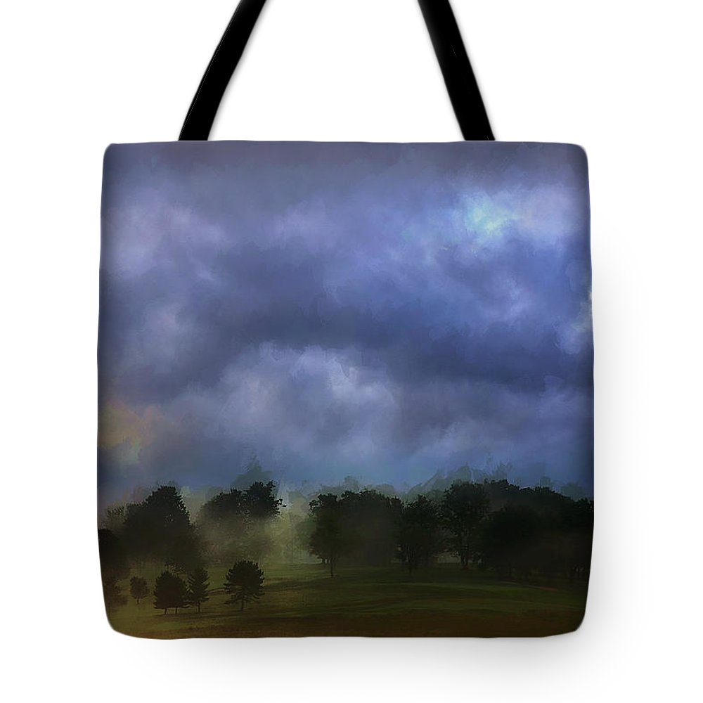 Ron Jones Tote Bag featuring the photograph Evensong by Ron Jones