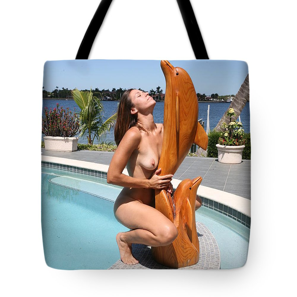 Everglades City Fl.professional Photographer Everglades City Fl. Photographer Everglades City Glamour Everglades City Beauty Everglades City Photographer Lucky Cole Angels Sexy Exotic Natural Beauty Glamorous Environmental Portraits Female Natural Settings Exotic Beauty Wildlife  Everglades City Florida Tote Bag featuring the photograph Everglades City Fl. Professional Photographer 349 by Lucky Cole