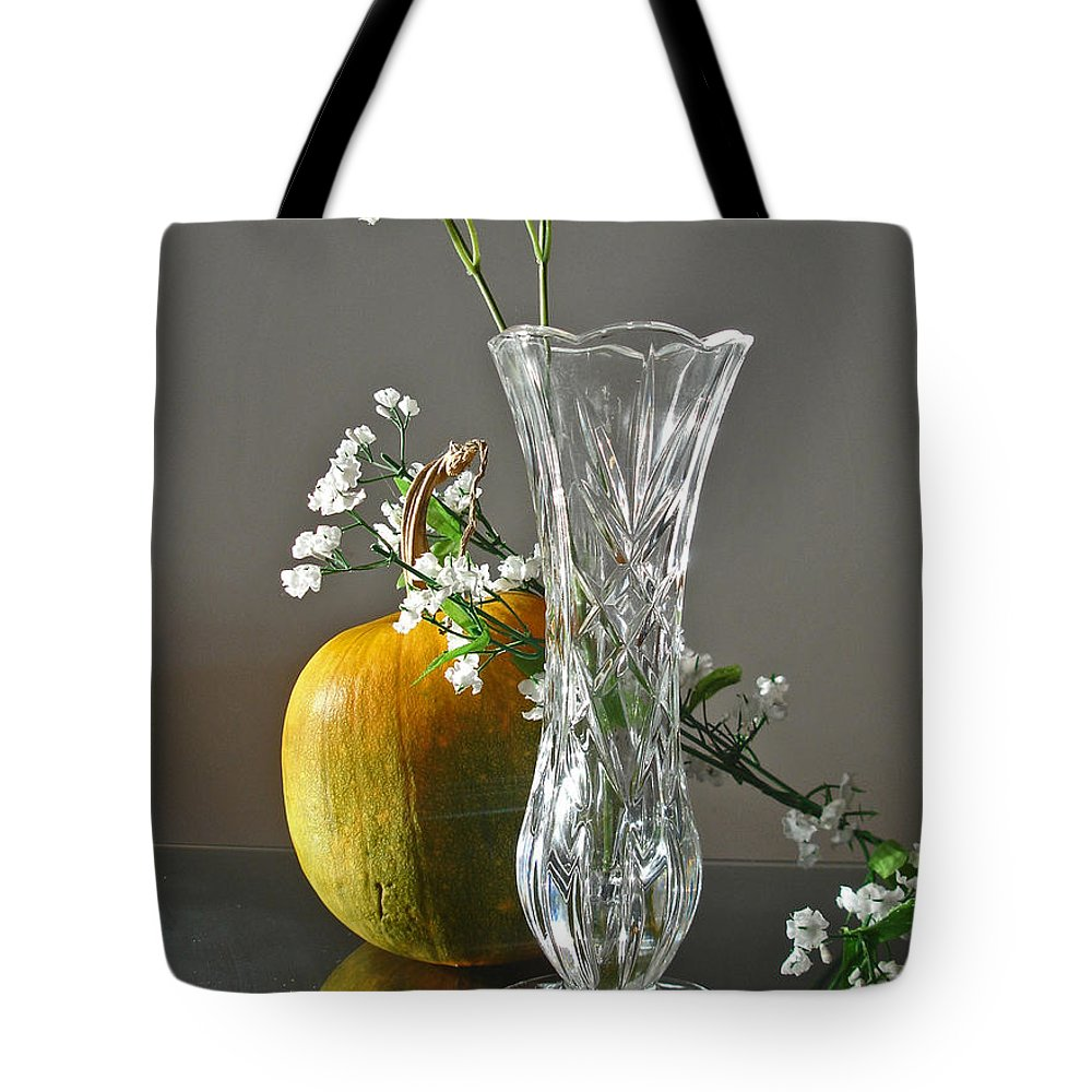 Still Life Tote Bag featuring the photograph Everlasting Harvest by Shelley Jones