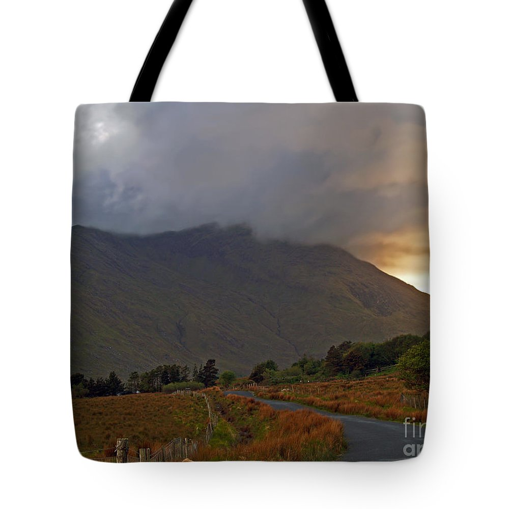 Fine Art Photography Tote Bag featuring the photograph Every Cloud Has A Silver Lining by Patricia Griffin Brett
