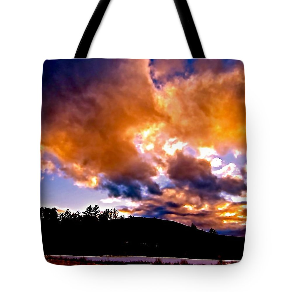 Tote Bag featuring the photograph Every Storm Runs Out Of Rain by Elizabeth Tillar