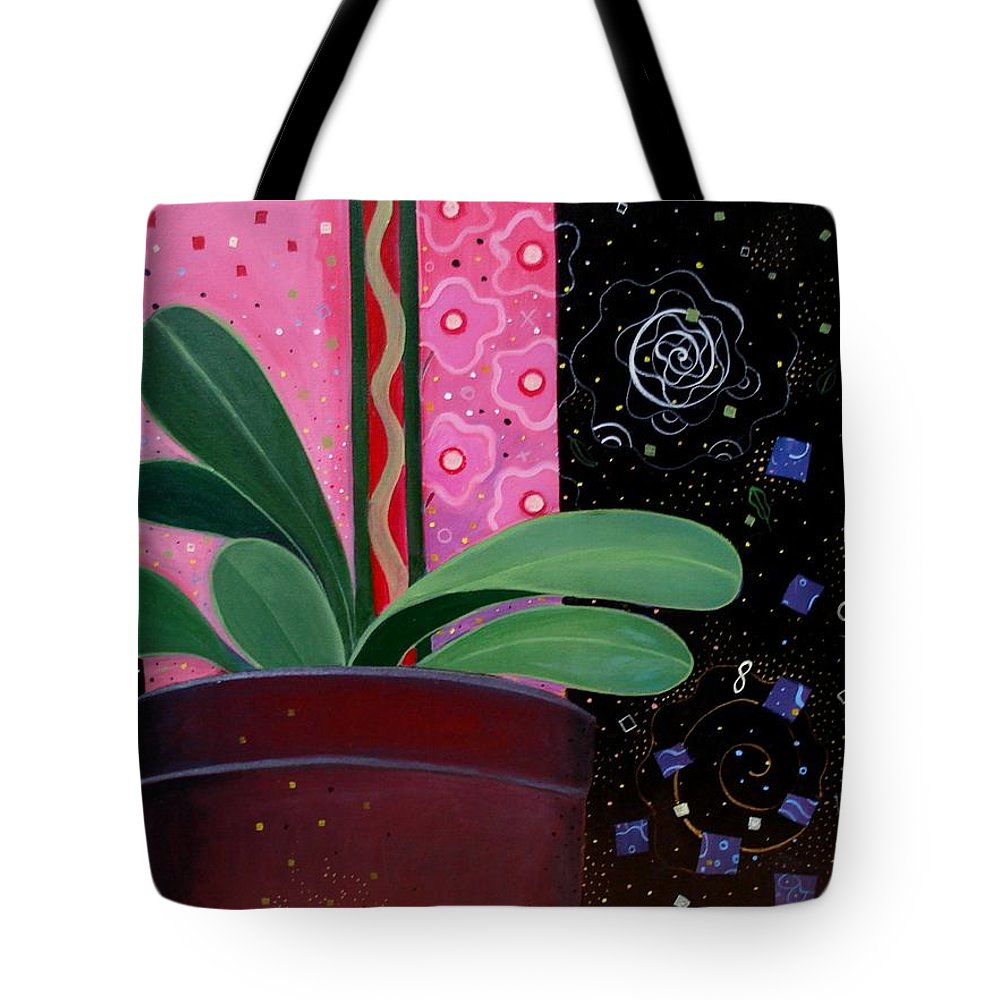 Sacred Tote Bag featuring the painting Everyday Sacred by Helena Tiainen