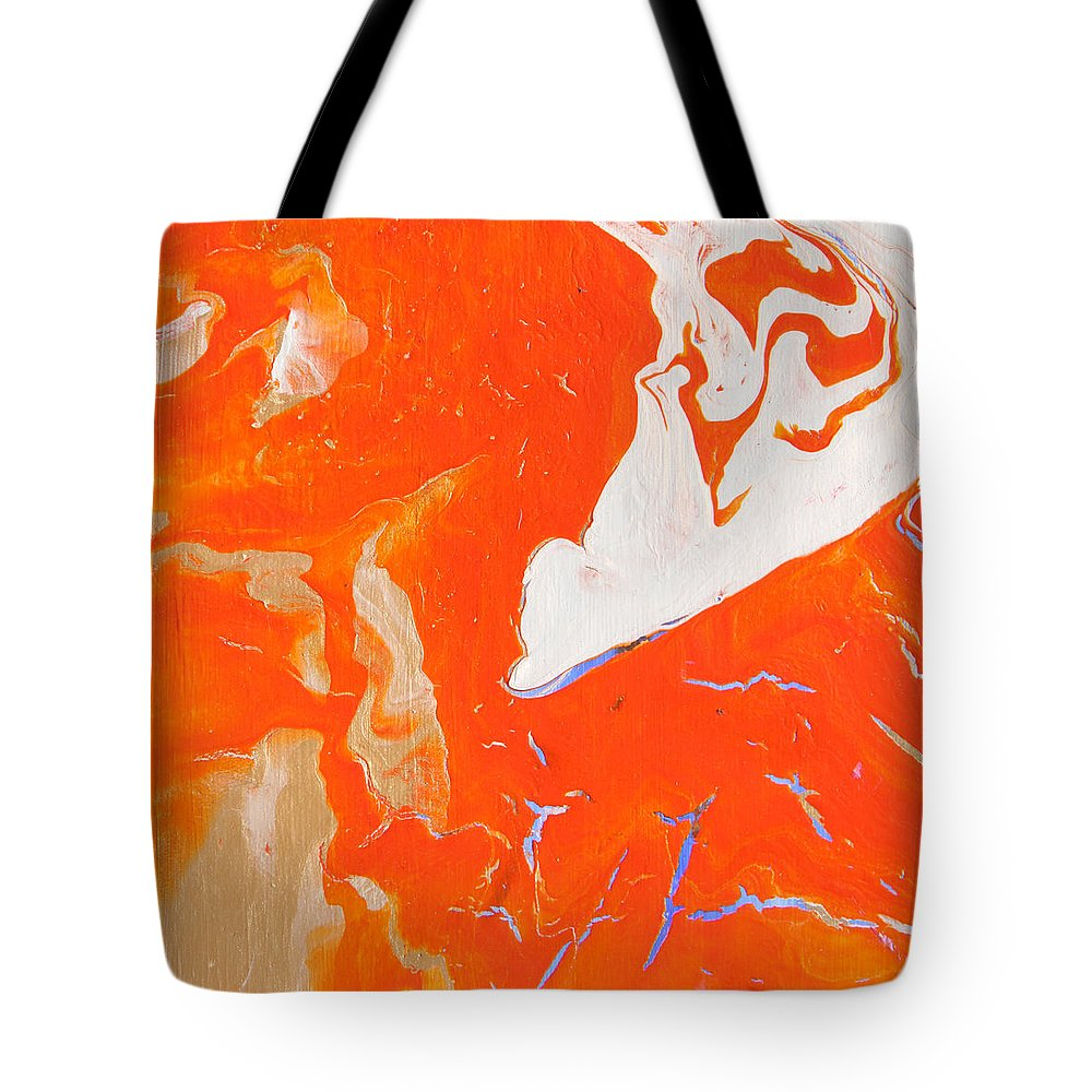 Fusionart Tote Bag featuring the painting Evidence Of Angels by Ralph White