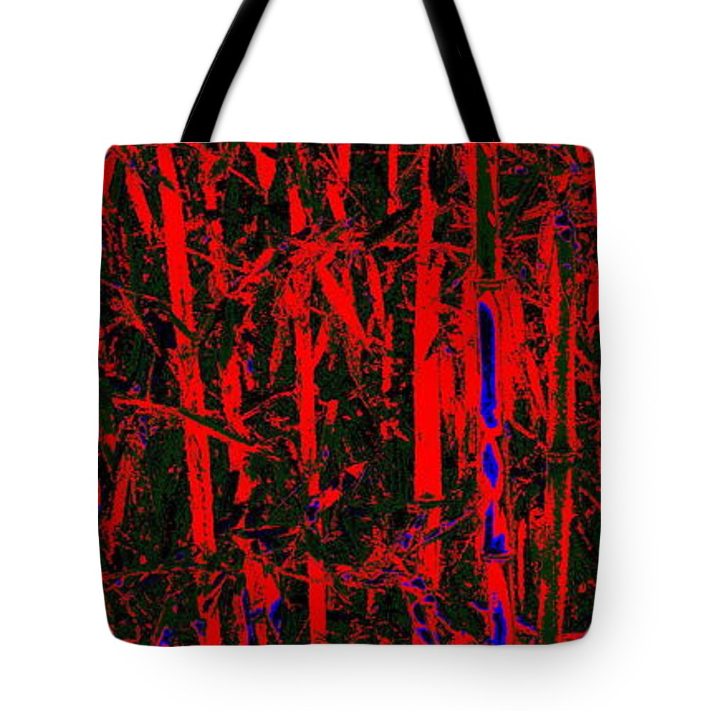 Bamboo Tote Bag featuring the photograph Exotic Bamboo by Ed Smith