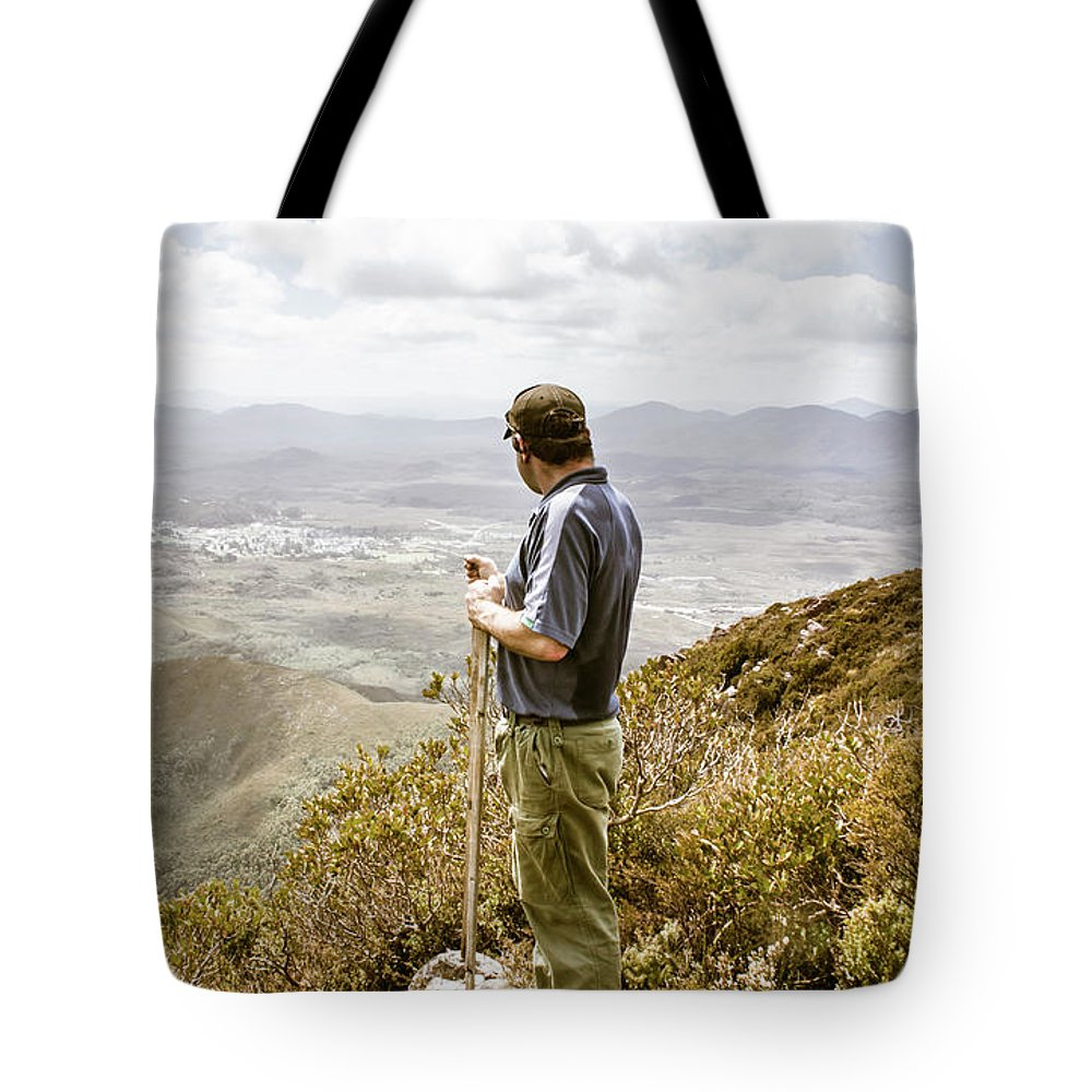 Zeehan Tote Bag featuring the photograph Explore Tasmania by Jorgo Photography - Wall Art Gallery