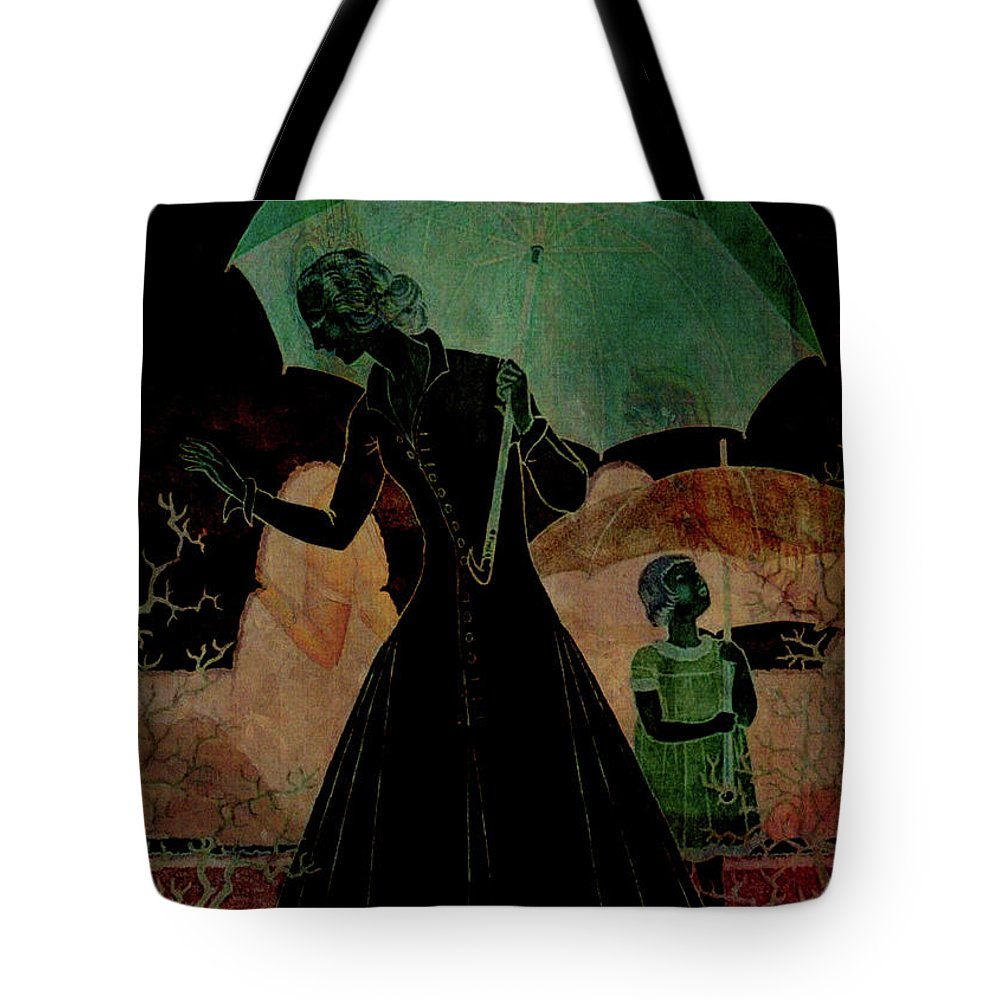 Vogue Tote Bag featuring the digital art Extreme Vogue by Sarah Vernon