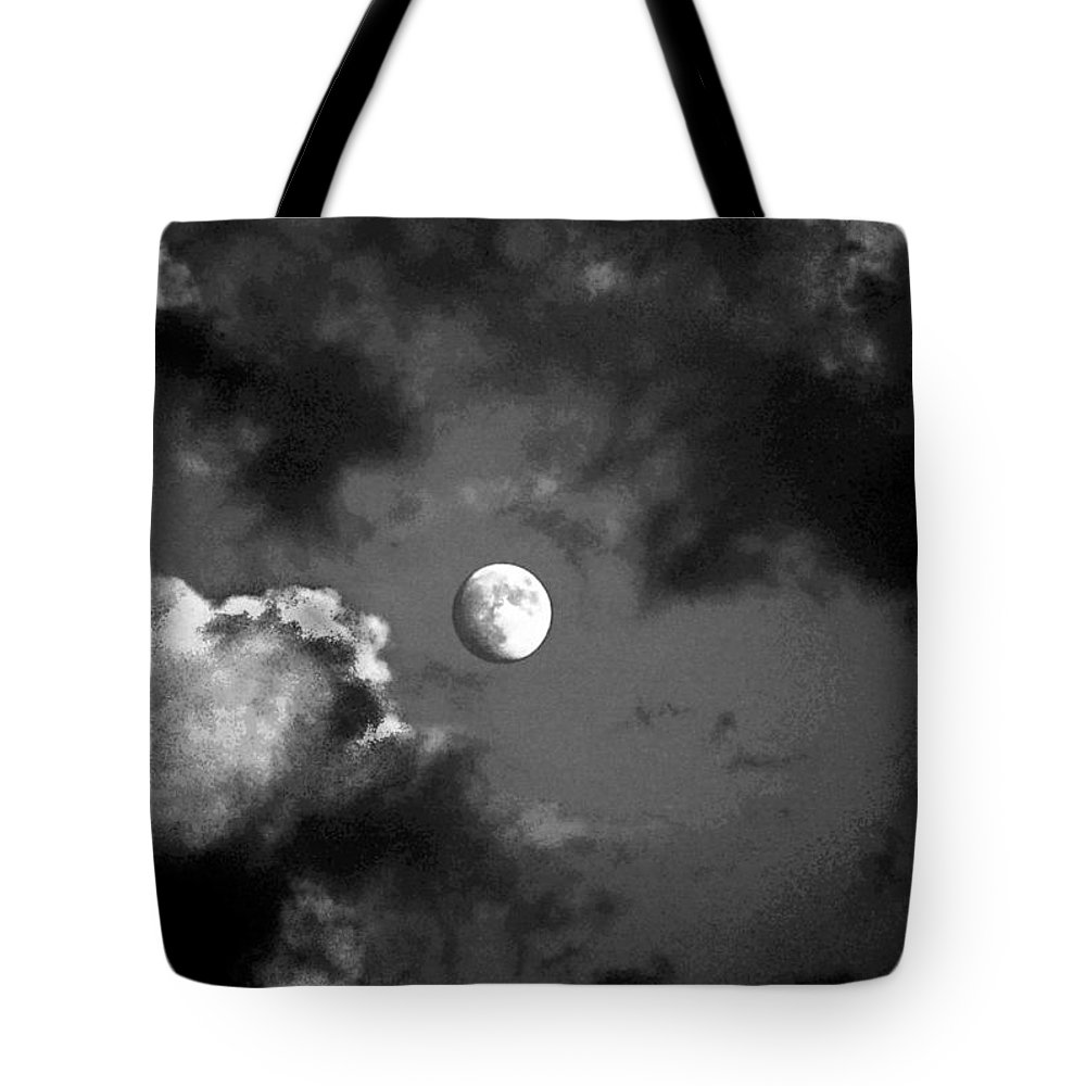 Sky Tote Bag featuring the photograph Eye In The Sky by Steve Karol