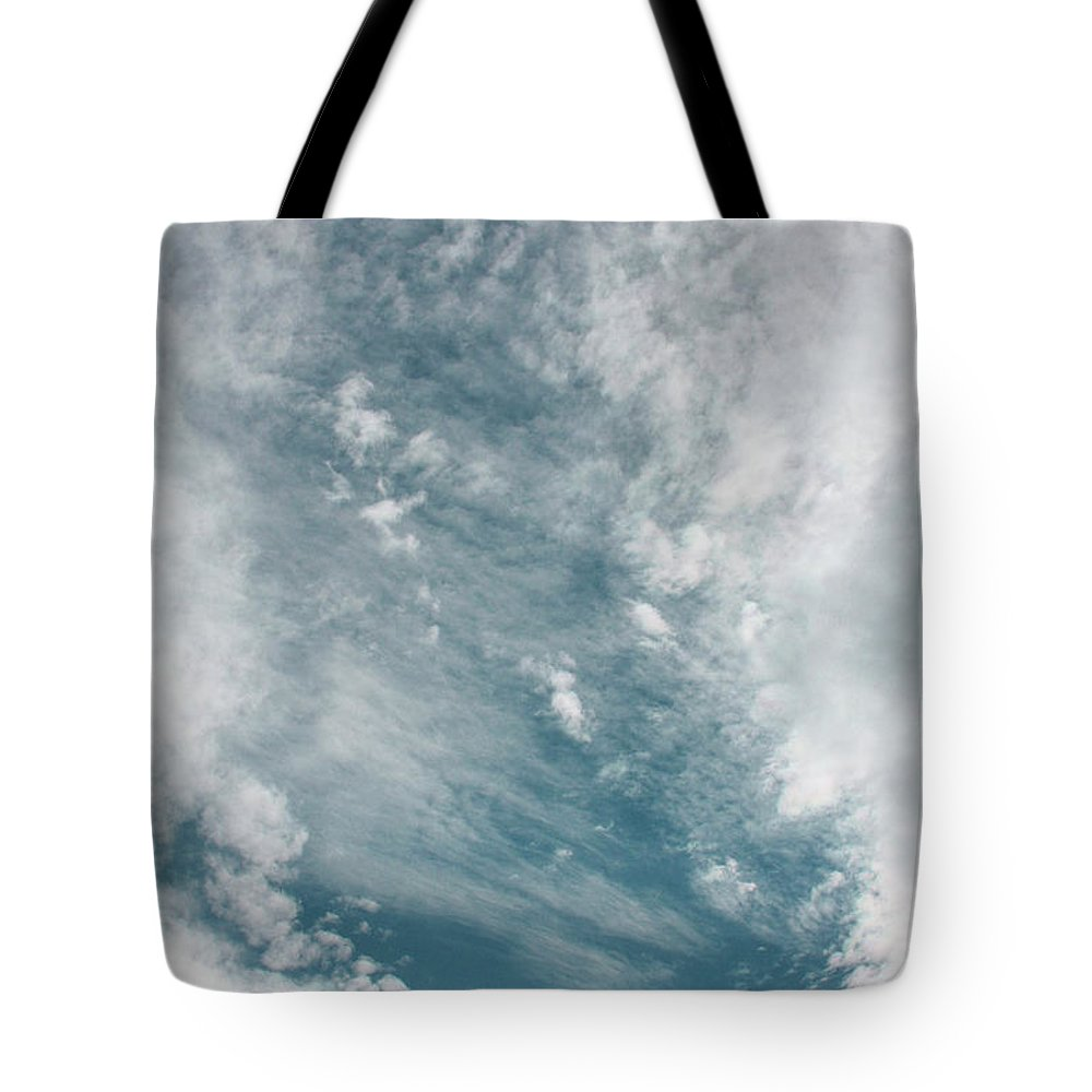 Sky Tote Bag featuring the photograph Eye In The Sky by Tommy Anderson